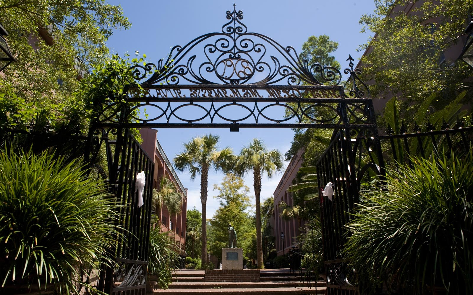 College of Charleston Cougar Mall Gate