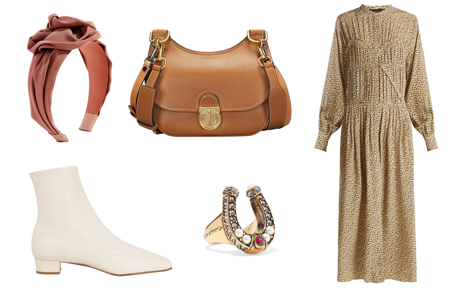 tory burch james saddlebag outfit