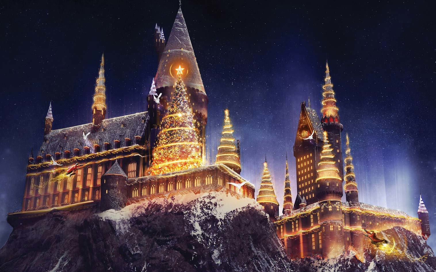 Hogwarts at Christmas