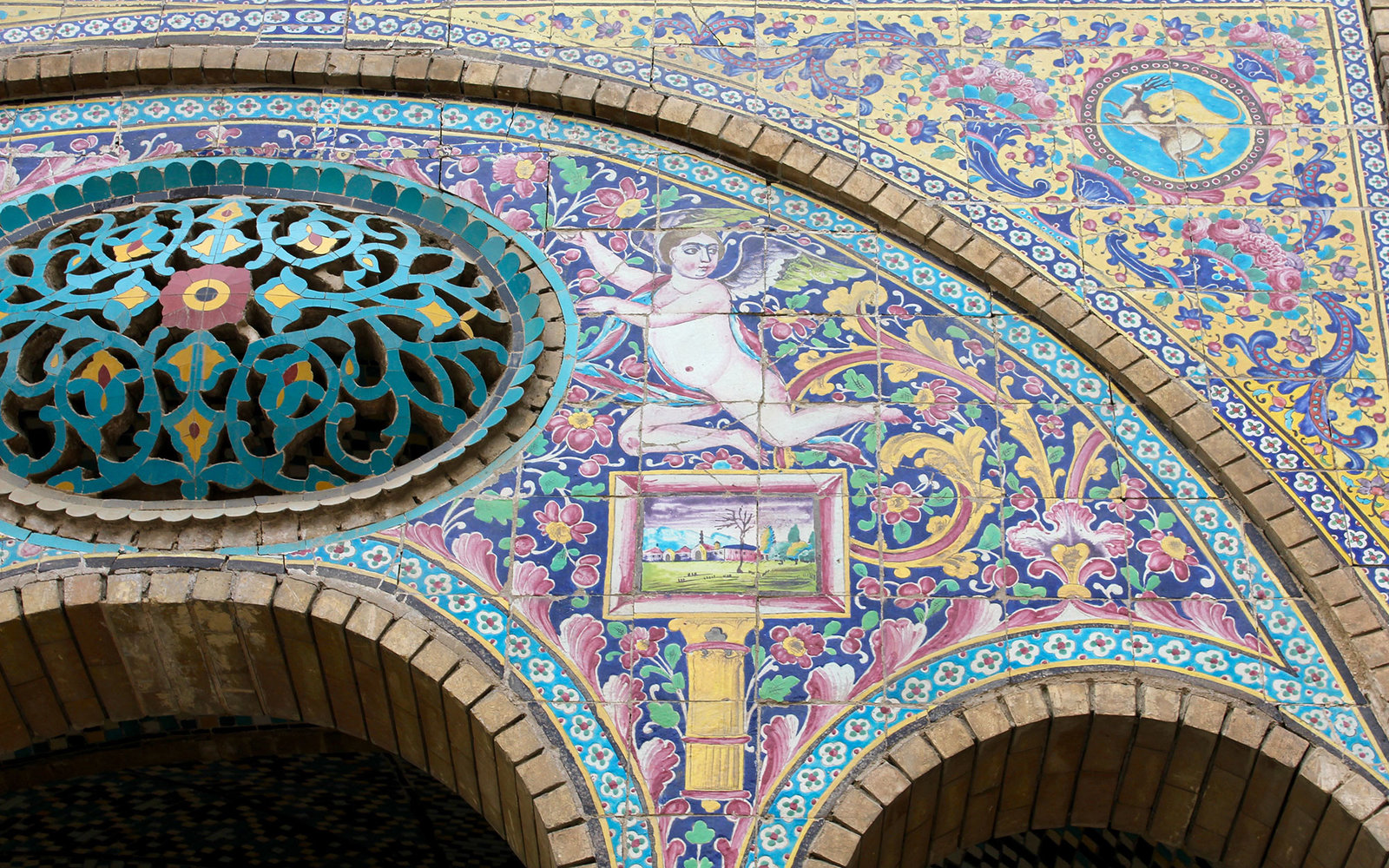 In Fotos: Irans Tilework-Tradition