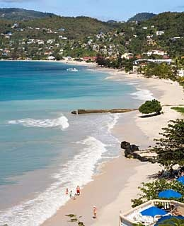 Strolling in a Bathing Suit, Grenada